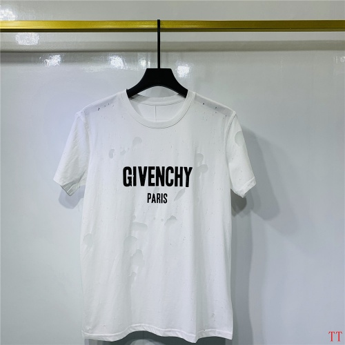 Givenchy T-Shirts Short Sleeved O-Neck For Men #815156 $41.00, Wholesale Replica Givenchy T-Shirts