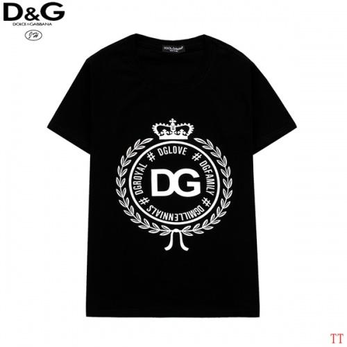 Dolce & Gabbana D&G T-Shirts Short Sleeved O-Neck For Men #815163