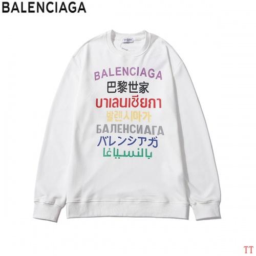 Balenciaga Hoodies Long Sleeved O-Neck For Men #815191