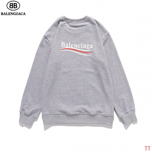 Balenciaga Hoodies Long Sleeved O-Neck For Men #815196