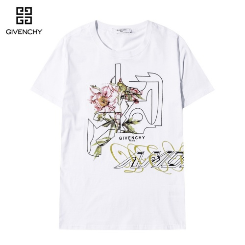 Givenchy T-Shirts Short Sleeved O-Neck For Men #815207 $29.00, Wholesale Replica Givenchy T-Shirts