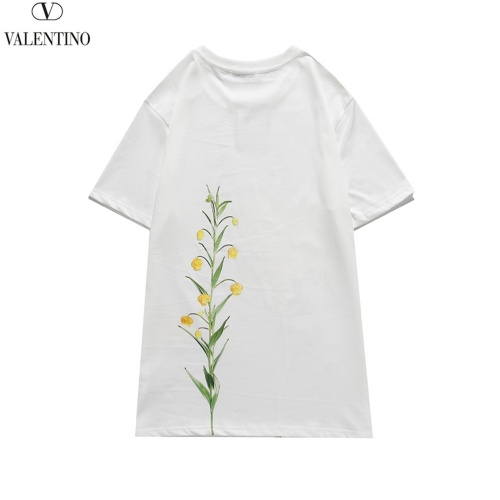 Replica Valentino T-Shirts Short Sleeved O-Neck For Men #815218 $29.00 USD for Wholesale