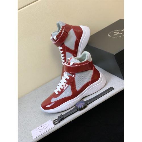 Prada High Tops Shoes For Men #815295