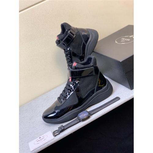 Prada High Tops Shoes For Men #815298