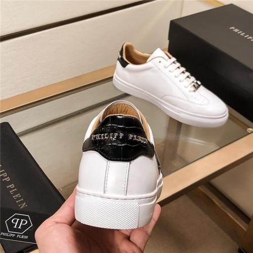 Replica Philipp Plein PP Casual Shoes For Men #815299 $76.00 USD for Wholesale