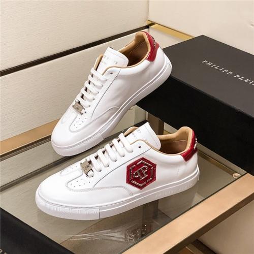 Philipp Plein PP Casual Shoes For Men #815300 $76.00 USD, Wholesale Replica Philipp Plein Shoes