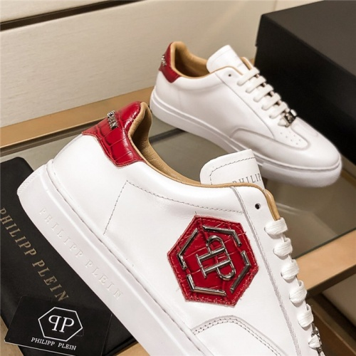 Replica Philipp Plein PP Casual Shoes For Men #815300 $76.00 USD for Wholesale