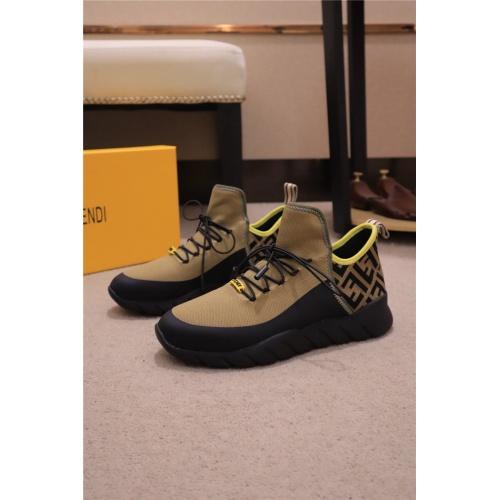 Fendi Casual Shoes For Men #815305