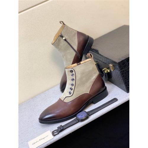 Ferragamo Salvatore Boots For Men #815309