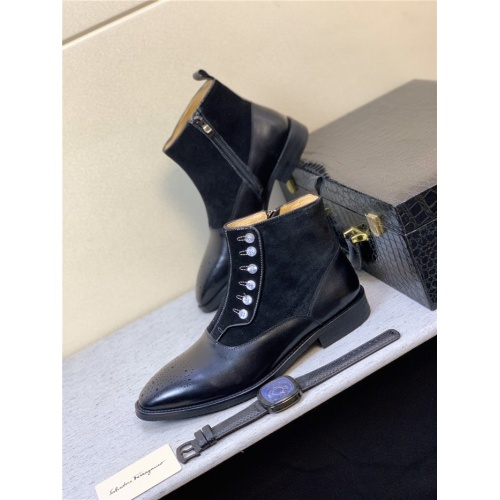 Ferragamo Salvatore Boots For Men #815311