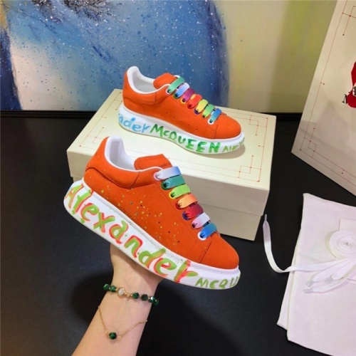Alexander McQueen Casual Shoes For Women #815317