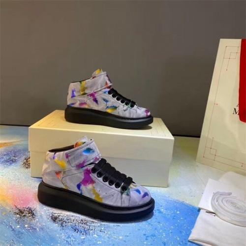 Alexander McQueen High Tops Shoes For Women #815324
