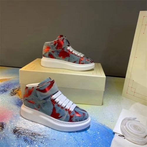 Alexander McQueen High Tops Shoes For Women #815326