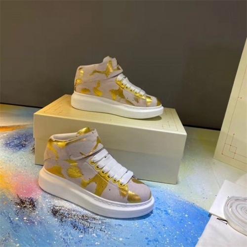 Alexander McQueen High Tops Shoes For Women #815328
