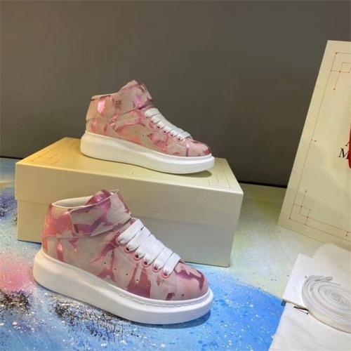 Alexander McQueen High Tops Shoes For Women #815330