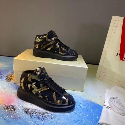 Alexander McQueen High Tops Shoes For Women #815333