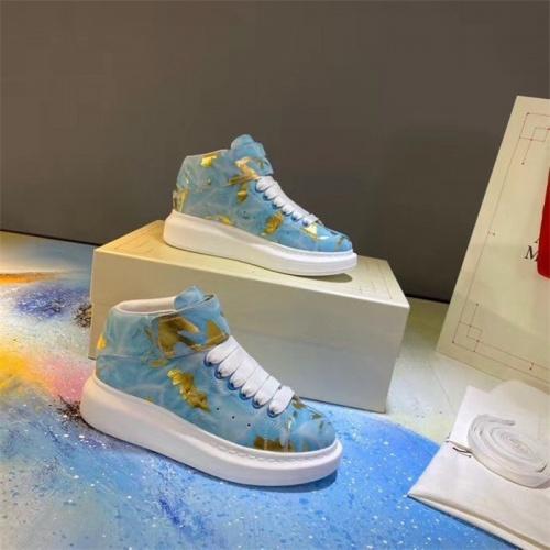 Alexander McQueen High Tops Shoes For Women #815334