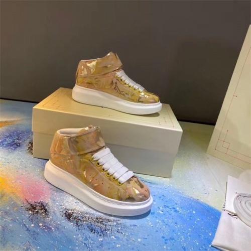 Alexander McQueen High Tops Shoes For Women #815336