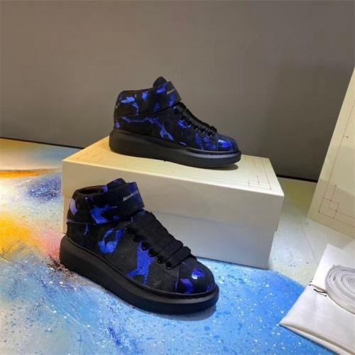Alexander McQueen High Tops Shoes For Women #815337