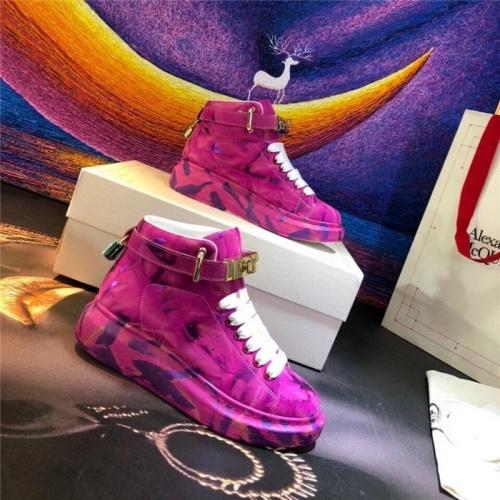 Alexander McQueen High Tops Shoes For Women #815339