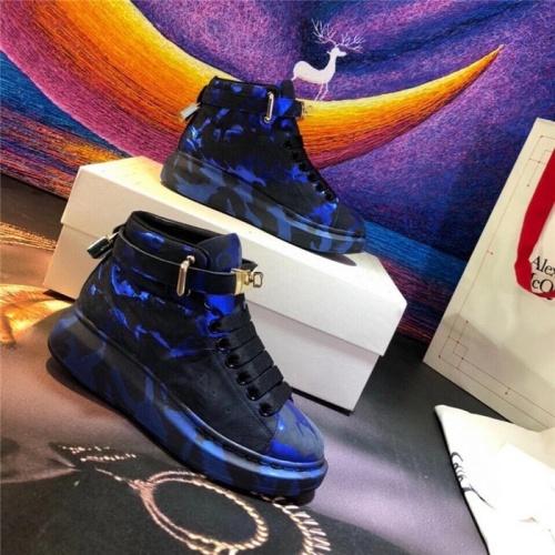Alexander McQueen High Tops Shoes For Women #815351