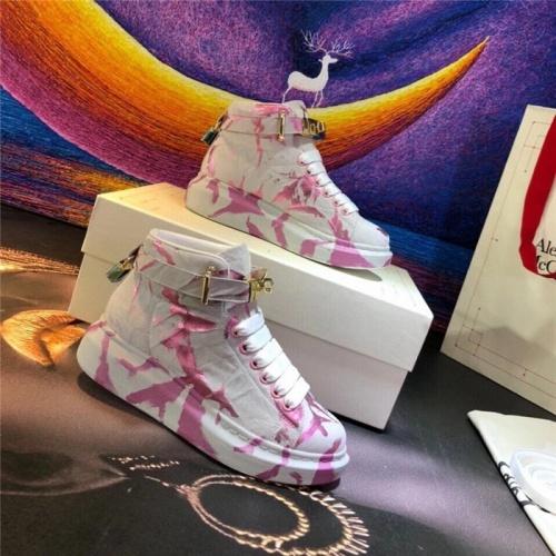 Alexander McQueen High Tops Shoes For Women #815355
