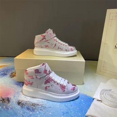 Alexander McQueen High Tops Shoes For Men #815370