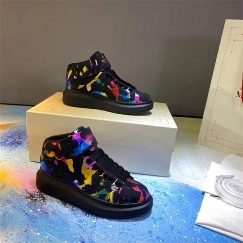 Alexander McQueen High Tops Shoes For Men #815382