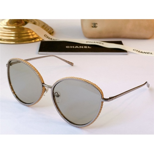 Chanel AAA Quality Sunglasses #815386