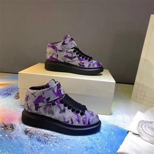 Alexander McQueen High Tops Shoes For Men #815389