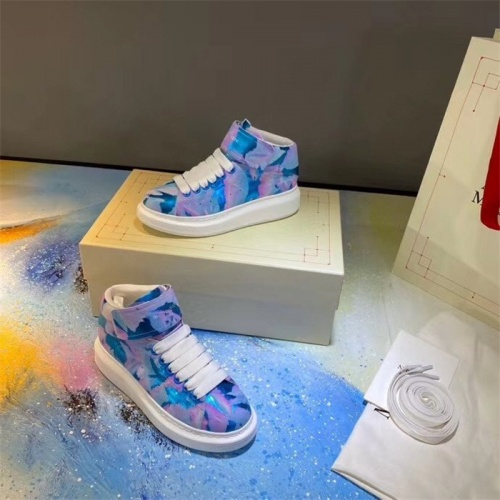Alexander McQueen High Tops Shoes For Men #815390