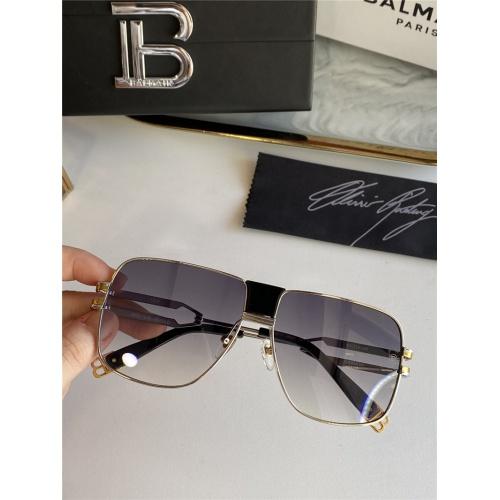Balmain AAA Quality Sunglasses #815394 $76.00, Wholesale Replica Balmain AAA Sunglasses