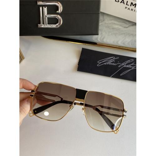 Balmain AAA Quality Sunglasses #815396 $76.00, Wholesale Replica Balmain AAA Sunglasses