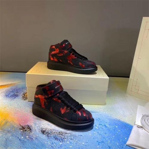 Alexander McQueen High Tops Shoes For Men #815398