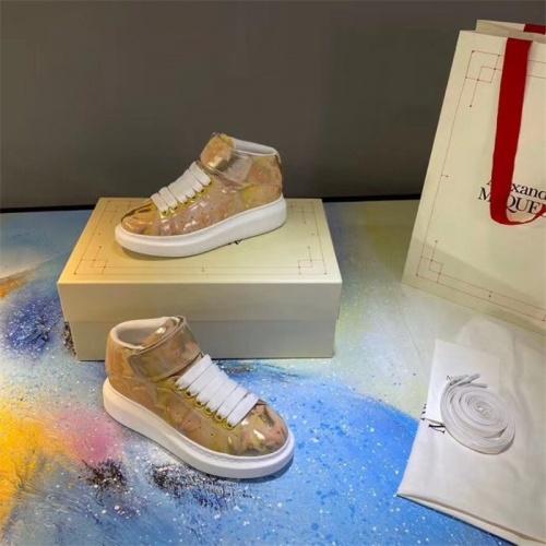 Alexander McQueen High Tops Shoes For Men #815399