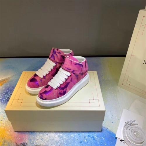 Alexander McQueen High Tops Shoes For Men #815401