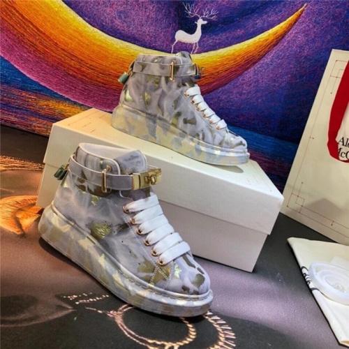 Alexander McQueen High Tops Shoes For Men #815409