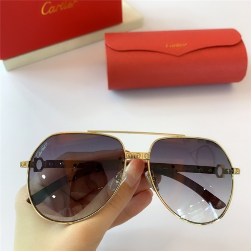 Cartier AAA Quality Sunglasses #815417