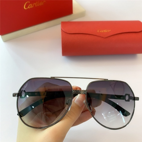 Cartier AAA Quality Sunglasses #815419