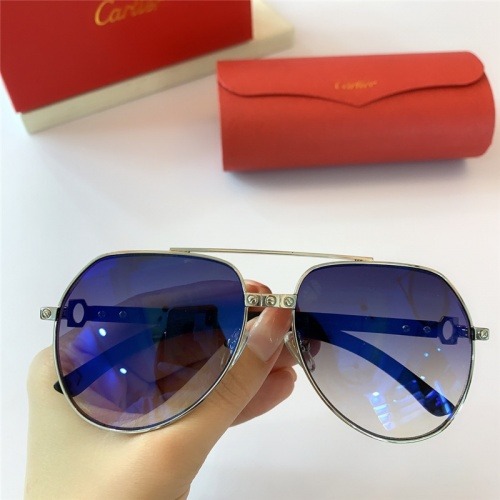 Cartier AAA Quality Sunglasses #815420