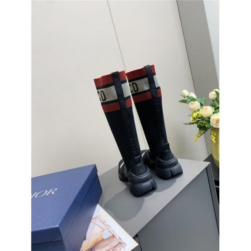 Replica Christian Dior Boots For Women #815470 $98.00 USD for Wholesale