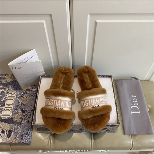 Christian Dior Slippers For Women #815523