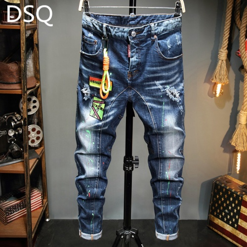 Dsquared Jeans Trousers For Men #815566