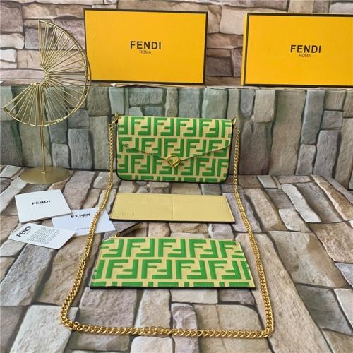 Fendi AAA Quality Messenger Bags For Women #815573