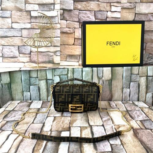 Fendi AAA Quality Messenger Bags For Women #815575