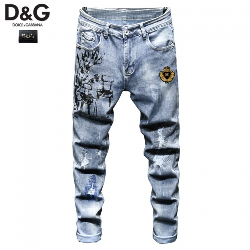 Dolce & Gabbana D&G Jeans Trousers For Men #815576