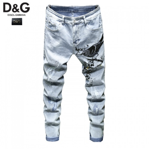 Dolce & Gabbana D&G Jeans Trousers For Men #815577