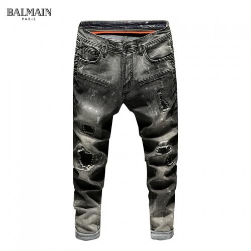 Balmain Jeans Trousers For Men #815588