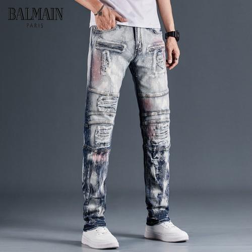 Balmain Jeans Trousers For Men #815589