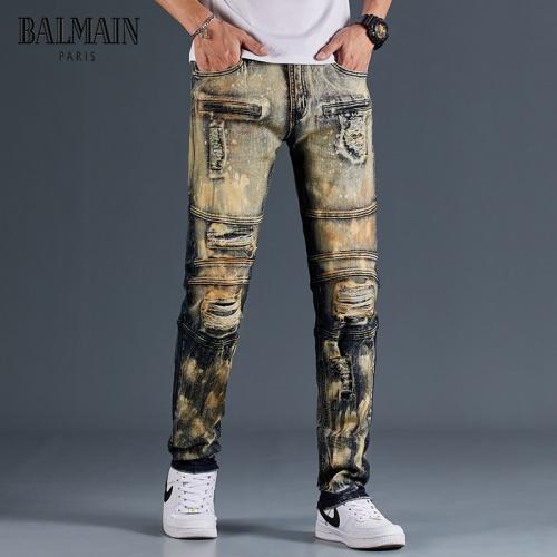 Balmain Jeans Trousers For Men #815590
